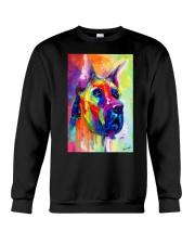 Great Dane Water Color Art Flow Q10 Crewneck Sweatshirt thumbnail