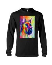 Great Dane Water Color Art Flow Q10 Long Sleeve Tee thumbnail