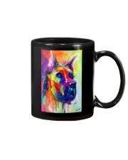 Great Dane Water Color Art Flow Q10 Mug thumbnail