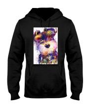 SCHNAUZER POSTER COLORFUL  Hooded Sweatshirt thumbnail