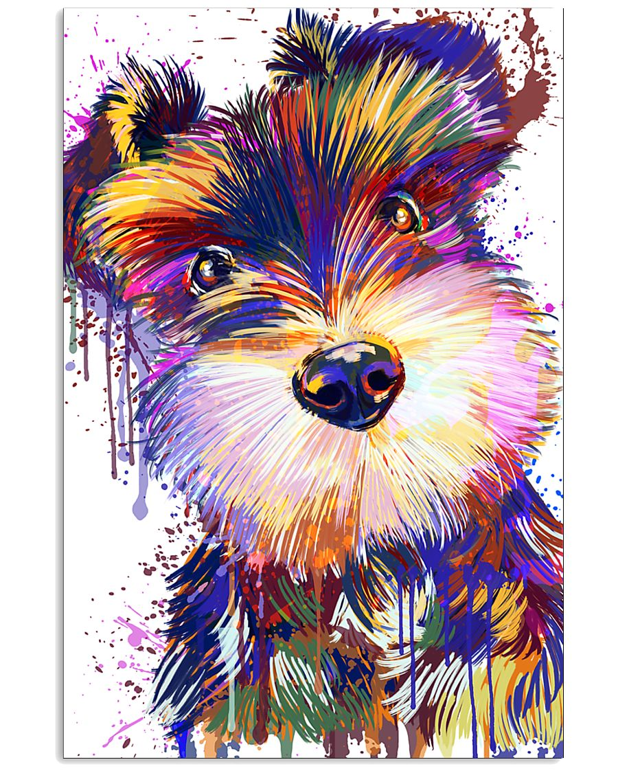 SCHNAUZER POSTER COLORFUL  11x17 Poster