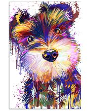 SCHNAUZER POSTER COLORFUL  11x17 Poster front