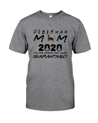 Doberman Mom 2020 quarantined