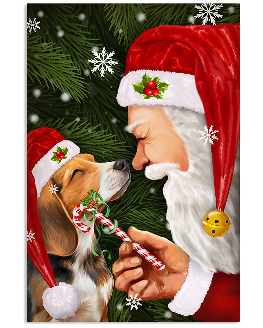 Beagle Poster Noel Gift 16x24 Poster