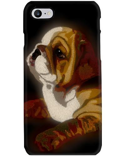 BullDog Phone case Unique Art