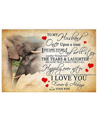 Elephant Husband Love You