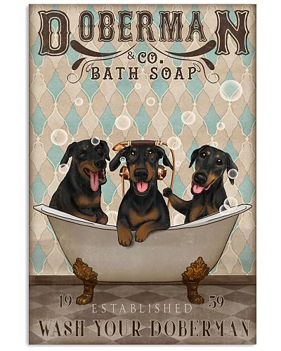 Doberman Bath Soap