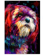 Shih Tzu Water Color 16x24 Poster front