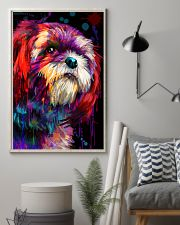 Shih Tzu Water Color 16x24 Poster lifestyle-poster-1