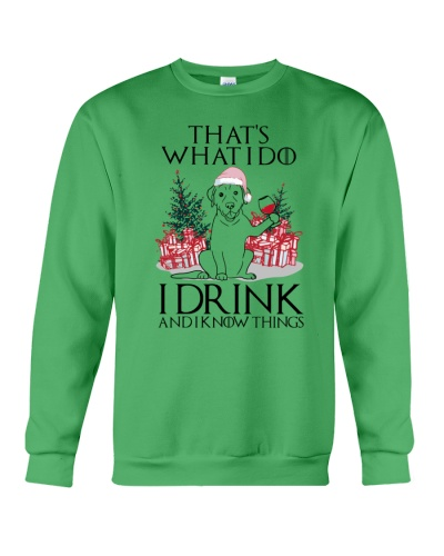 Labrador Thats What I Do I Drink