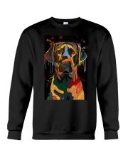 Labrador Water Color Art Flow Unique One ZX101 Crewneck Sweatshirt thumbnail
