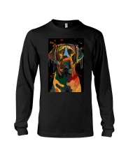 Labrador Water Color Art Flow Unique One ZX101 Long Sleeve Tee thumbnail