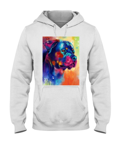 Rottweiler  Water Color