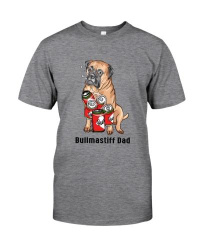 Bullmastiff Beer Dad