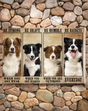 Border Collie Be Strong 36x24 Poster aos-poster-landscape-36x24-lifestyle-14