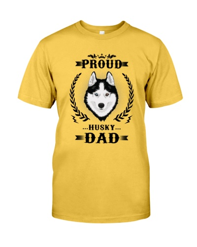 Husky Dad Proud