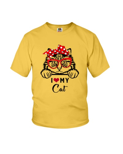 Cat I love dog