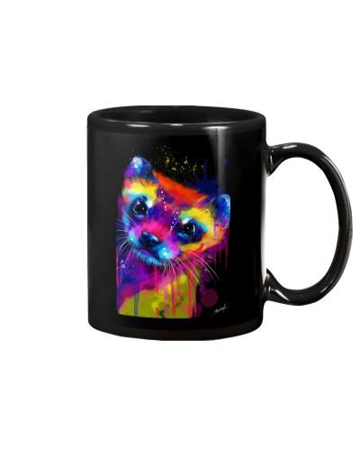 Ferret Water Color Art Z3