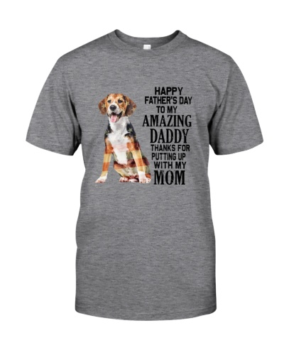 Beagle Happy Father's Day