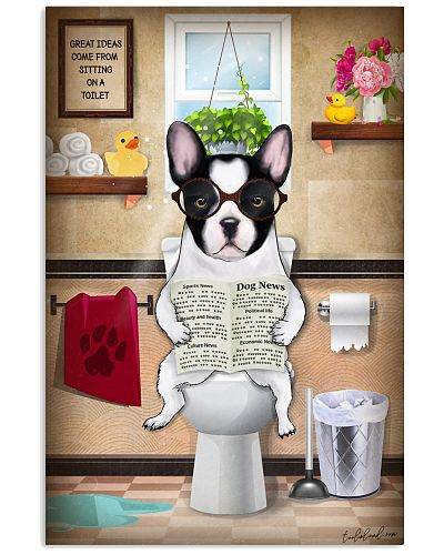 French Bulldog Toilet