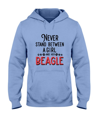 Beagle Never Stand  Between a girl