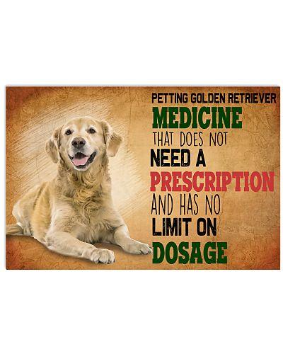 Golden Retriver Medicine