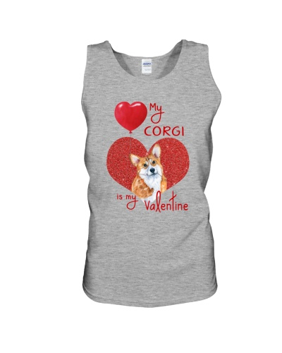 Corgi My Valentine