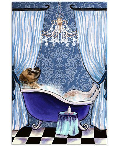 Boxer Bathroom Poster