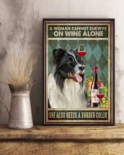 Border Collie Wine 24x36 Poster lifestyle-poster-3