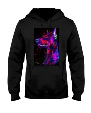 Doberman Water Color Phone Case Hooded Sweatshirt thumbnail