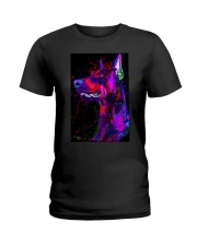 Doberman Water Color Phone Case Ladies T-Shirt thumbnail