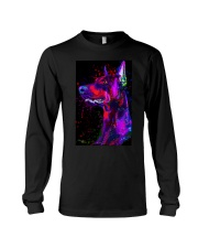 Doberman Water Color Phone Case Long Sleeve Tee thumbnail