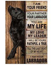 Labrador Partner 11x17 Poster thumbnail