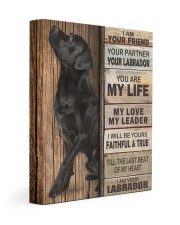 Labrador Partner Gallery Wrapped Canvas Prints tile