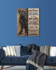 Labrador Partner 16x20 Gallery Wrapped Canvas Prints aos-canvas-pgw-16x20-lifestyle-front-06