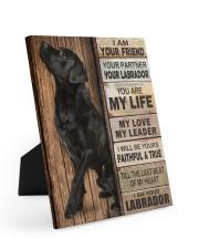 Labrador Partner 8x10 Easel-Back Gallery Wrapped Canvas thumbnail