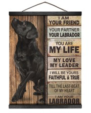Labrador Partner 16x20 Black Hanging Canvas thumbnail