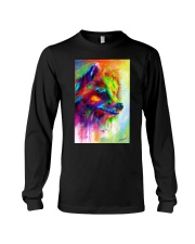 POMERANIAN COLORFUL POSTER Long Sleeve Tee tile