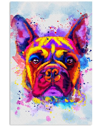 Frenchie Water Color