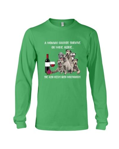 irish wolfhound wine