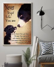 Border Collie-Never Forget- 11x17 Poster lifestyle-poster-1