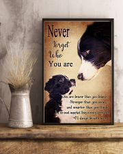 Border Collie-Never Forget- 11x17 Poster lifestyle-poster-3