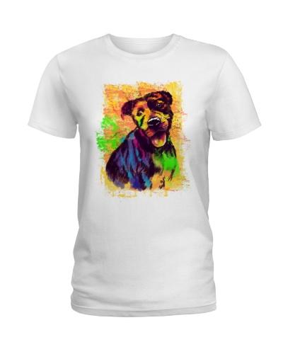 pitbull dog color