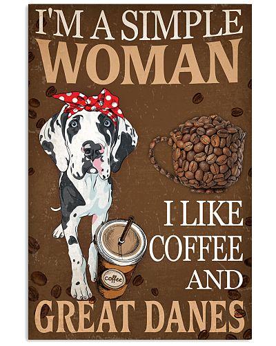 Great Dane I Like Coffee