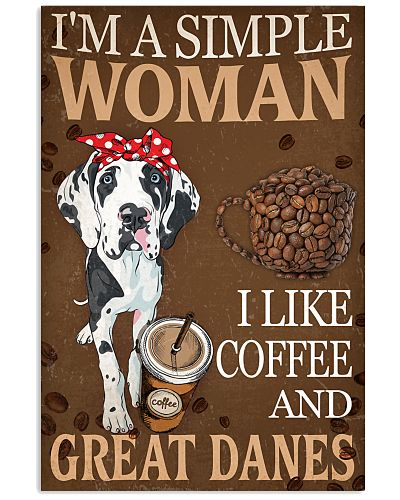 Great Dane I Like Coffee