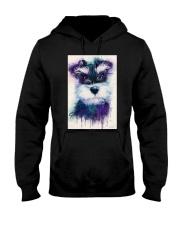 Schnauzer water color Hooded Sweatshirt thumbnail