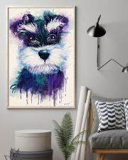 Schnauzer water color 24x36 Poster lifestyle-poster-1