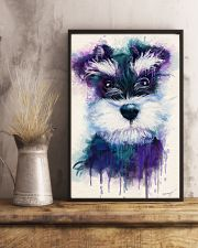 Schnauzer water color 24x36 Poster lifestyle-poster-3