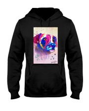 Jack Russell Water Color Art Face Art Hooded Sweatshirt thumbnail