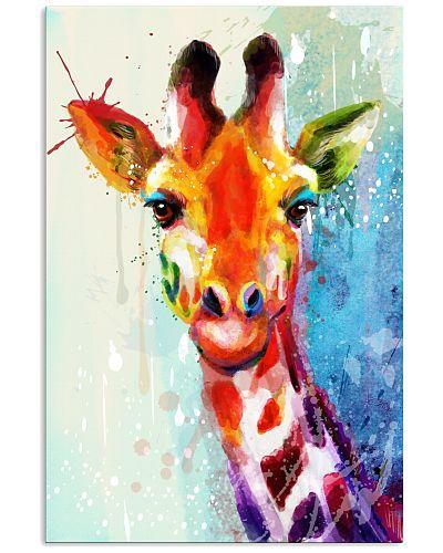 Giraffe Water Color